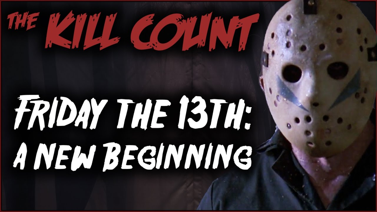 friday the 13th a new beginning 1985 kill count youtube