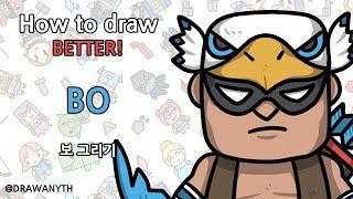 Gewusst wie: zeichnen von BO BESSER! | brawlstars
