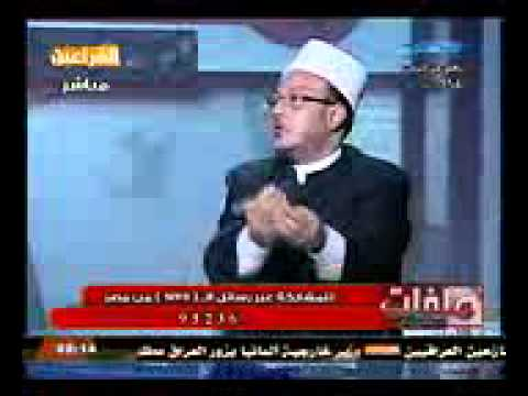 مناظرة الشيخ محمد عبد الله نصر مع الدكتور عادل المراغى على قناة الفراعين