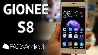 Gionee S8: un móvil android con 3D Touch