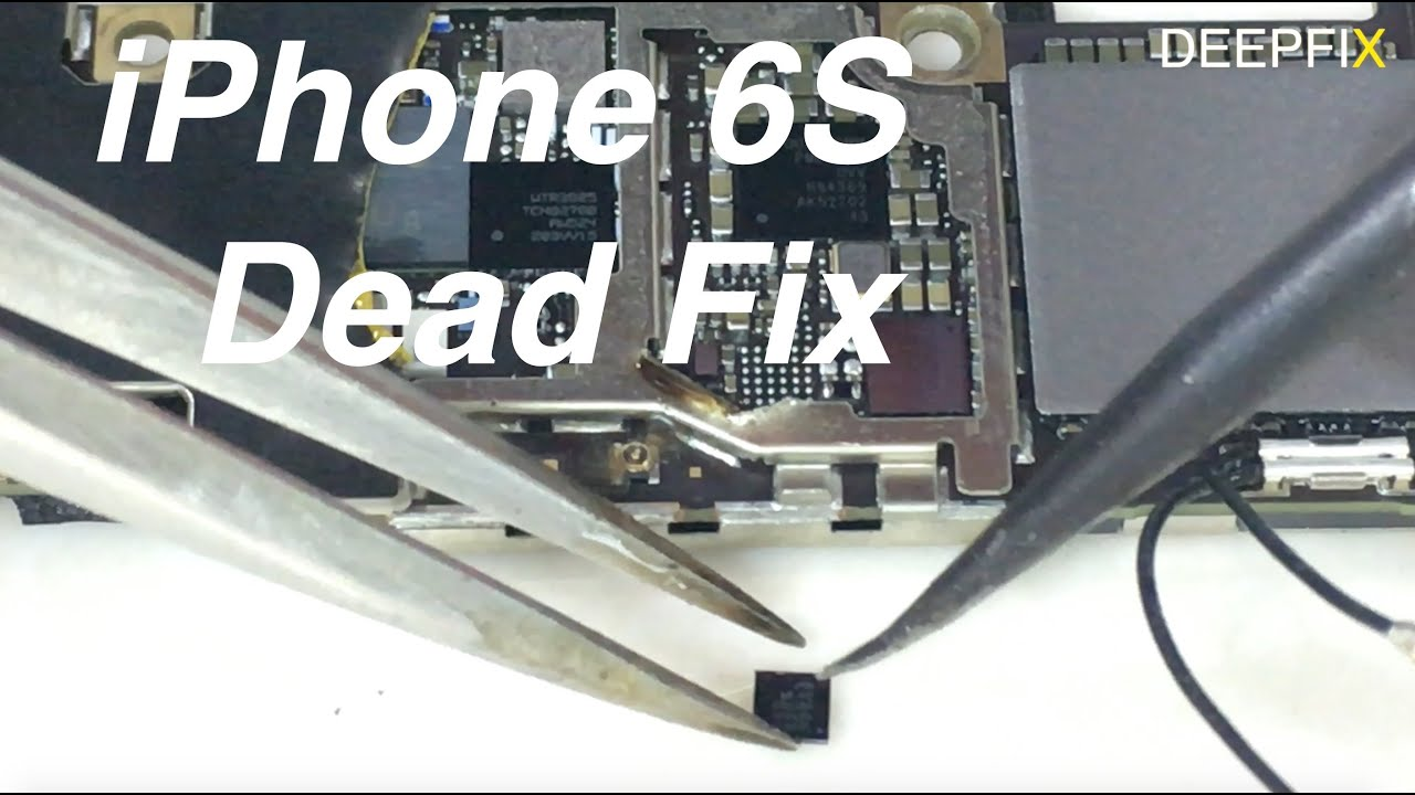 Iphone 6s Dead Fix By Replacing U4500 U2 Ic 4k Youtube Charger Circuit