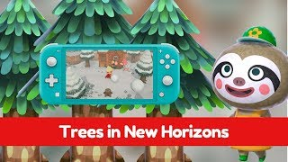 Trees in Animal Crossing New Horizons