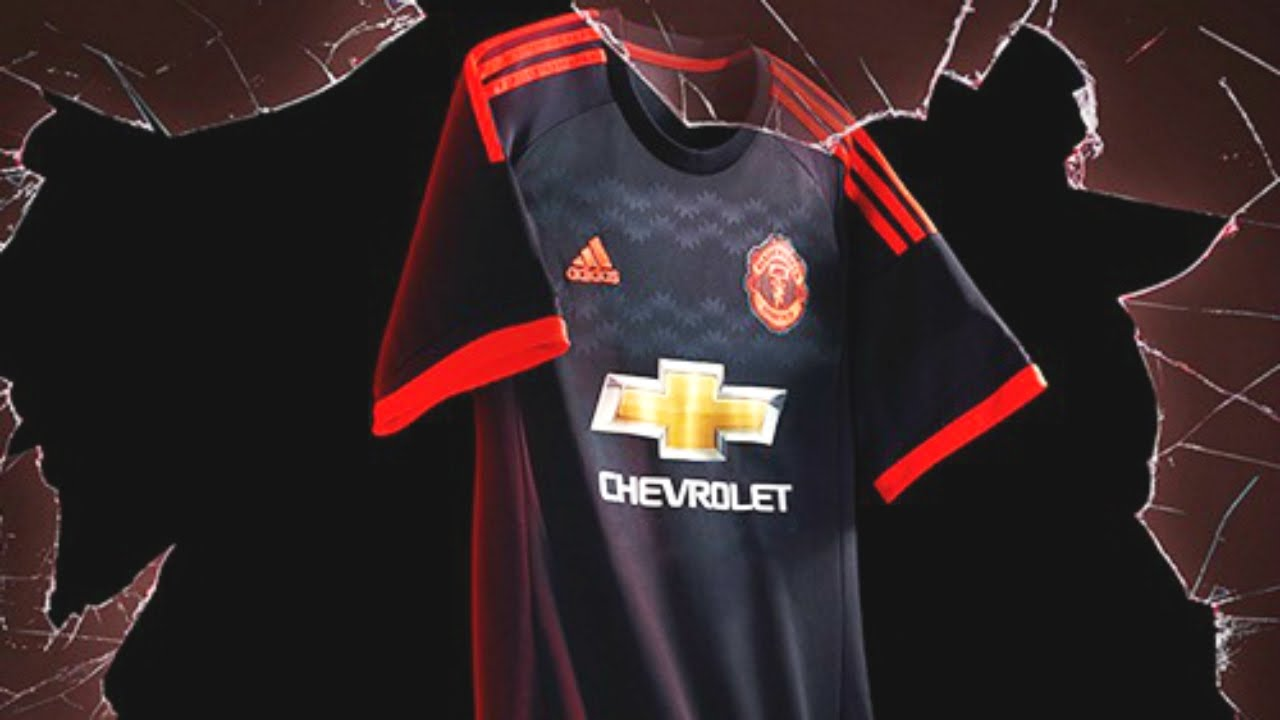 Official Manchester United 2015 16 Home Away Third Kits Youtube