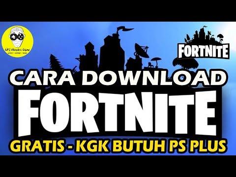 DOWNLOAD FORTNITE DI PS4 Indonesia/ ASIA - Gratizzz , Kgk Butuh PS Plus