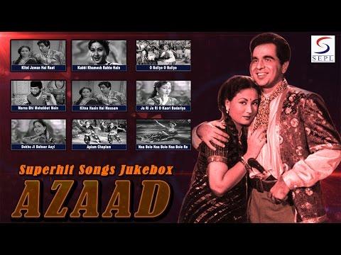 Azaad | Dilip Kumar & Meena Kumari | Superhit Songs Jukebox