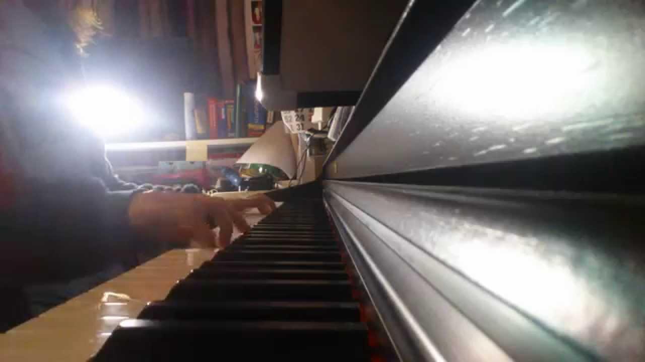 吳若希 Jinny Ng - 越難越愛 (使徒行者 片尾曲) PIANO COVER - YouTube