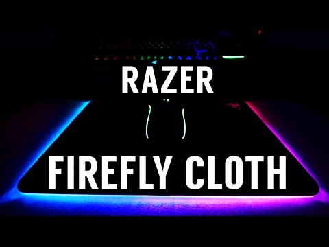 Razer Firefly Cloth Edition RGB Mousepad (Unboxing & Review)