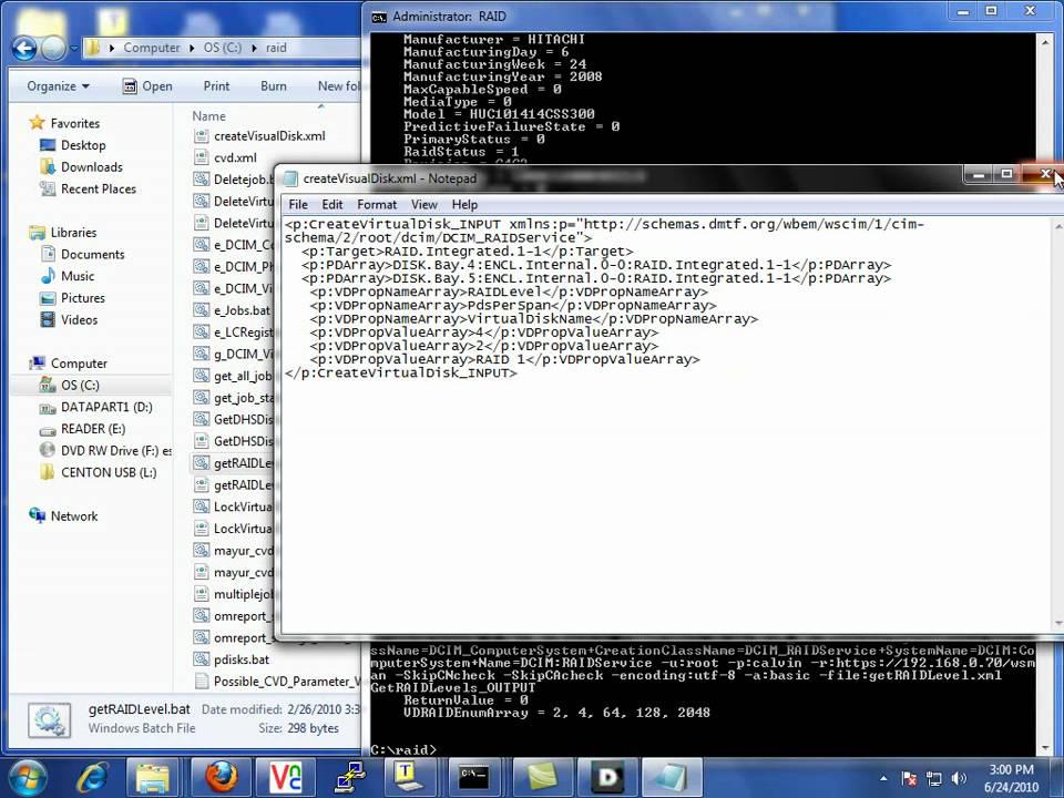 Dell Lifecycle Controller RAID Configuration via WSMAN - YouTube