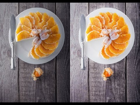 How to make food pictures look better in photoshop