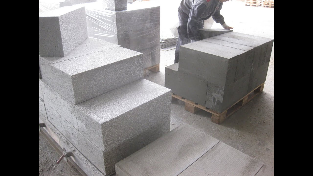 Foam concrete production clc blocks and aerated concrete for Cement foam blocks