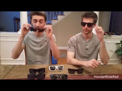 Oakley Sunglasses Collection Review