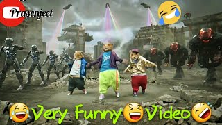 😂 Very Funny 😆 No War Only Dance 🤣 s by Prasenjeet meshram Resimi