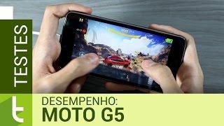 Desempenho do Moto G5 | Teste de velocidade oficial do TudoCelular