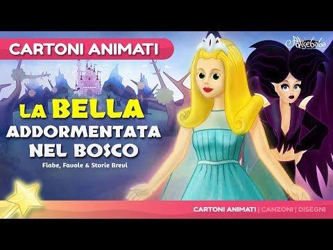 La Bella Addormentata nel Bosco storie per bambini | Storie della buonanotte | Cartoni animati