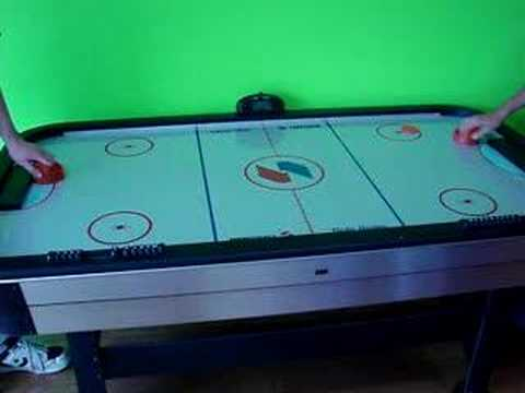 Captivating Sportcraft Turbo Air Hockey Table   YouTube