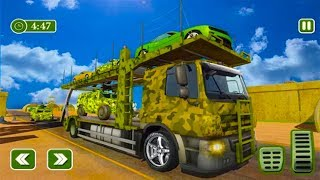 Army Car Transporter 2019 : Airplane Pilot Games - Android GamePlay - Car Transporter Games Android