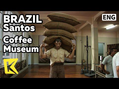 【K】Brazil Travel-Santos[브라질 여행-산투스]커피 거래소, 커피 박물관/Coffee Museum/Bolsa official de cafe/Exchange