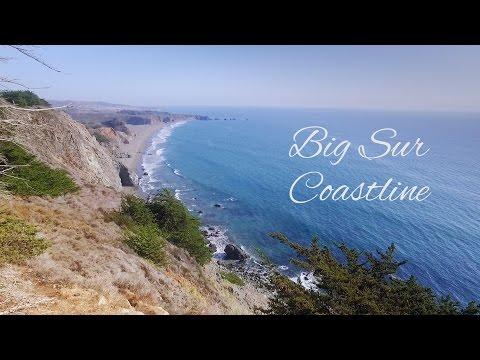 Aerial View - Big Sur, CA Coastline