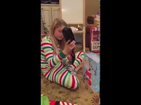 5th Grader Gets A (Corded) Phone for Christmas!