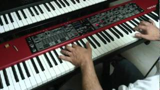 Space Electro - on Clavia NordStage EX 88