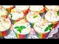 Капкейки лимонно-маковые со сливочным кремом рецепт  cupcakes lemon poppy with butter cream