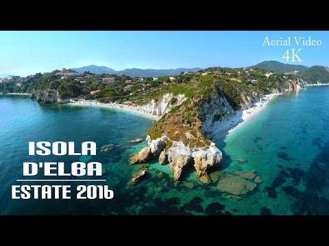 Isola d'Elba Vacanze 2016 Tributo all'Estate - Drone Video UHD