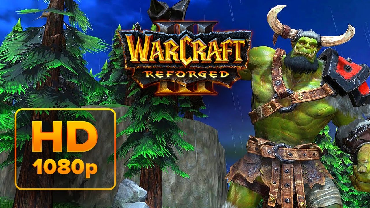 Warcraft 3 Reforged Cinematic Trailer Gameplay Side By Side