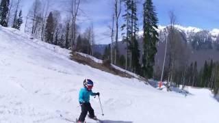 обучение горные лыжи Сочи