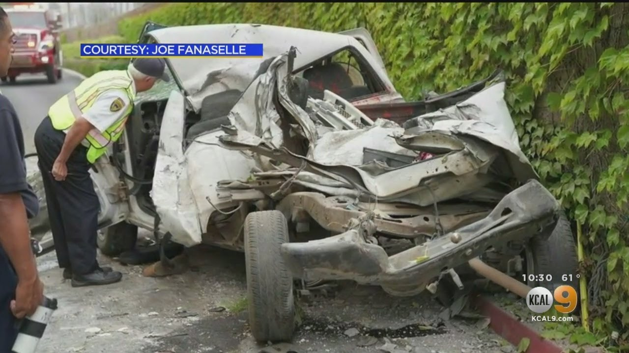 Injured In Chain Reaction Crash On I 15