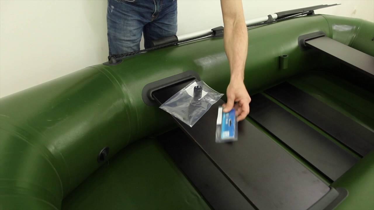 Schraubventil für klebefreie Montage Luftventil Schlauchboot Ventil von Borika