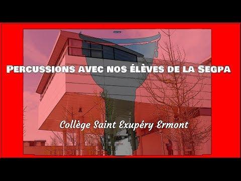 Djembés Collège Saint Exupéry Ermont Segpa