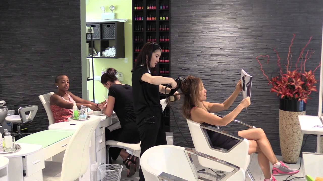 Blowout Manicure Pedicure Chicago Streeterville Hair Nail ...