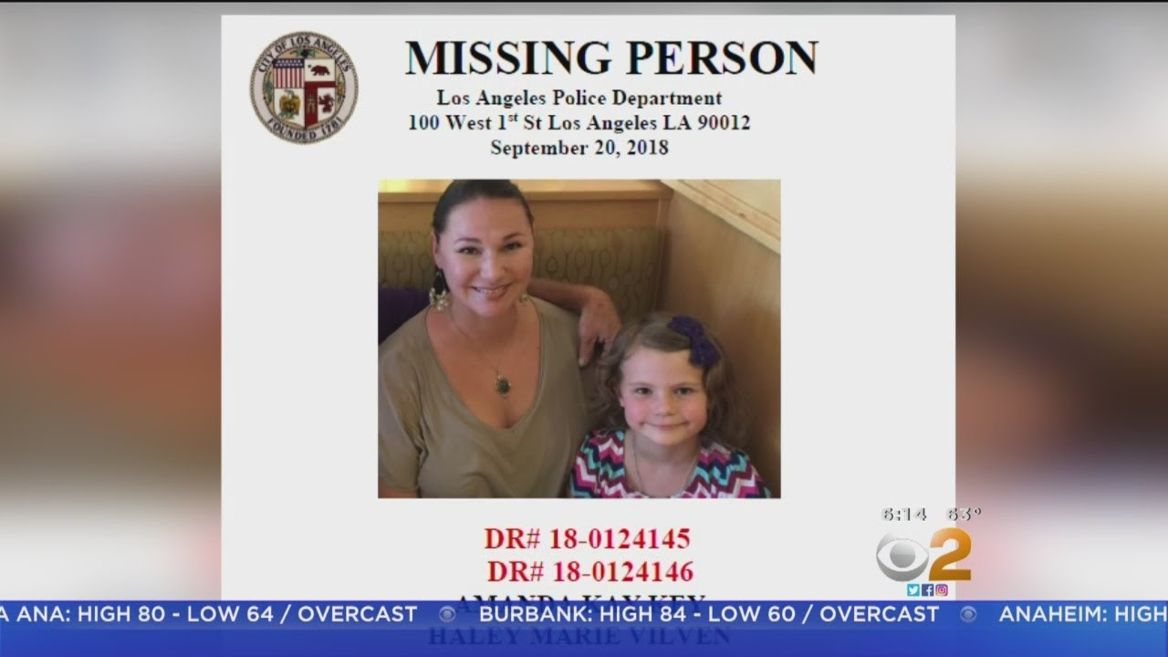 Oklahoma Mom, Daughter Missing 2 Weeks After Coming To California