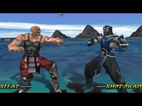 Mortal Kombat Deception BARAKA - (VERY HARD) - (PS2)【4K 60fps】【TAS】