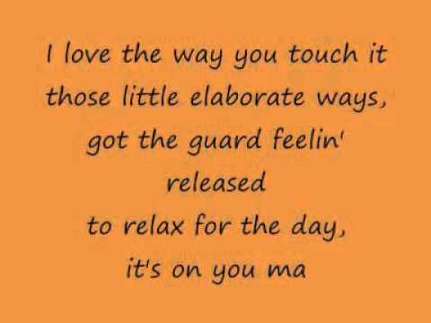 Mariah Carey   I Know What You Want lyrics on screen 2