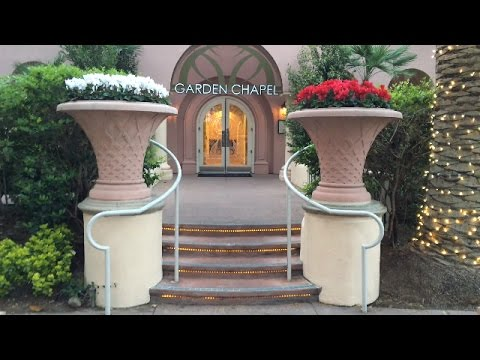 Flamingo Garden Chapel and The Paradise Gardens of Flamingo.  Family Vegas video for kids