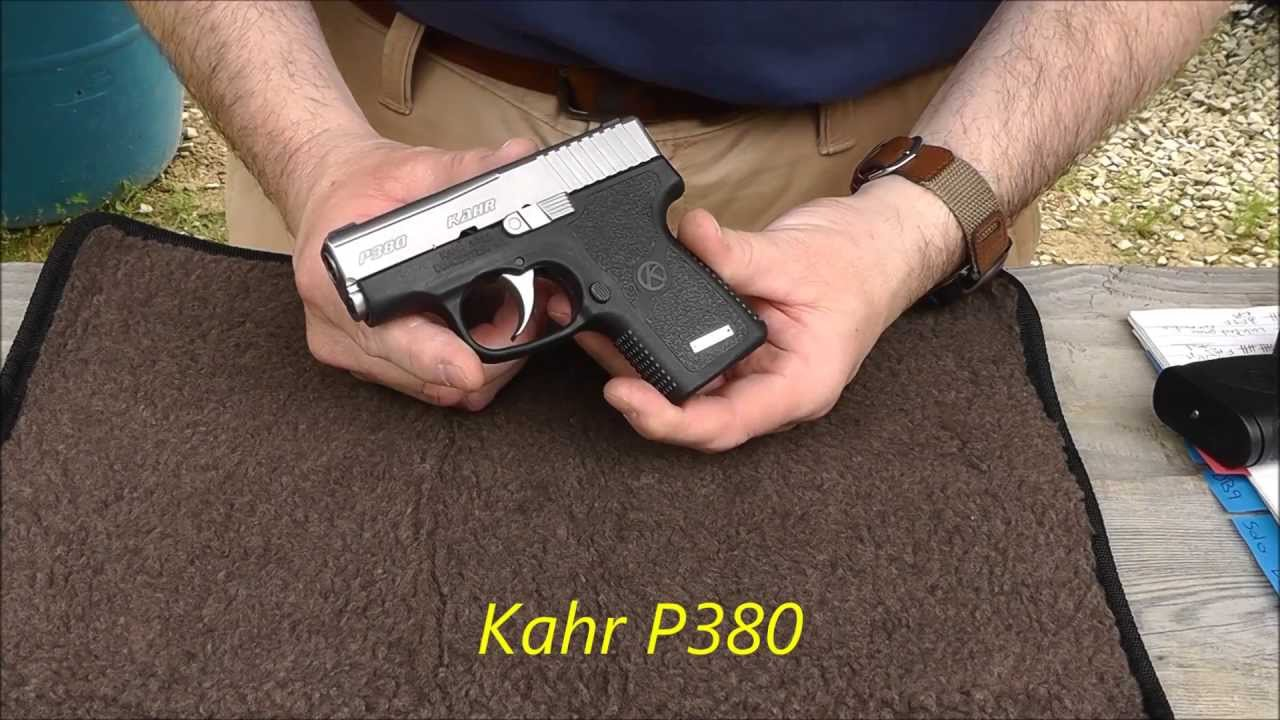 Kahr P380 Range Review! A Small Comfort!