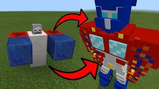 How To Spawn Transformers in Minecraft Pocket Edition