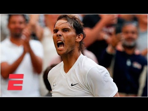 Rafael Nadal outlasts Nick Kyrgios in four sets to advance | 2019 Wimbledon Highlights