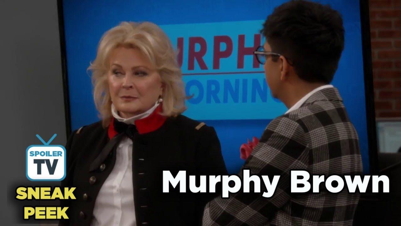 """Download Murphy Brown 11x09 Sneak Peek 3 """"Thanksgiving and Taking"""""""