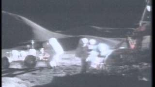 Apollo 15 Rover footage
