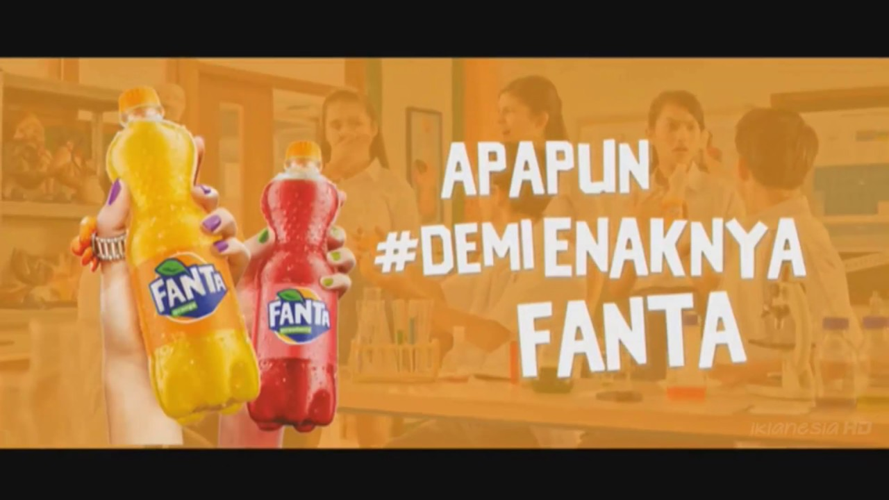 Iklan Fanta Orange Intringic 15s 2017 Youtube
