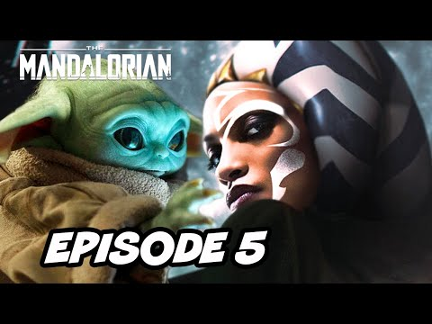 Star Wars The Mandalorian Season 2 Episode 5 Ahsoka Tano TOP 10 WTF and Easter Eggs