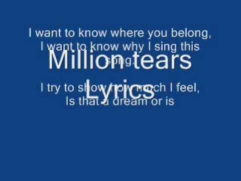 Nightcore Million TearsGroove Goverage Lyrics