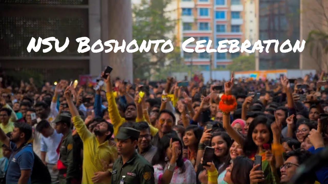 North South University || Boshonto Celebration 2020 || A Short Cinematic by Sharafat Mahi