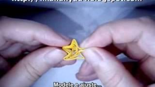 [Quilling] Técnica Estrela de 5 Pontas