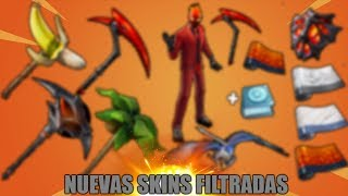 TODAS ESTAS SKINS SALDRÁN EN FORTNITE 🔥DollarGames🔥