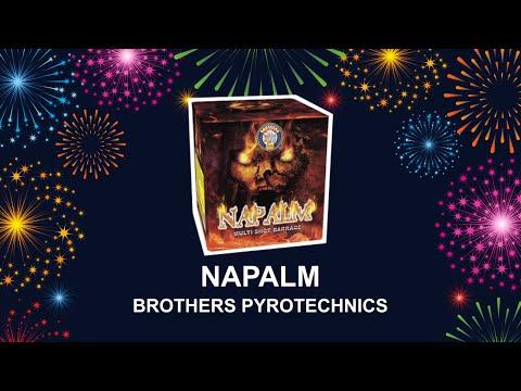 Napalm - Brothers Pyrotechnics (Fireworks, Cambridge)