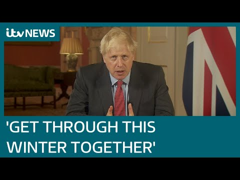 In full: Boris Johnson addresses nation, urging Britons to follow new Covid rules | ITV News