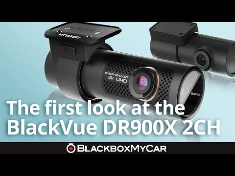 BlackVue DR900X-2CH Dash Cam | First Look | BlackboxMyCar
